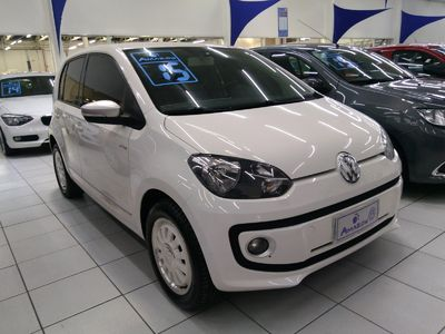 Volkswagen up! black, white, red up! 1.0 I-Motion 2015}