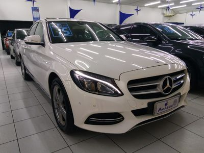 Mercedes-Benz C 200 Avantgarde 2.0 Turbo 16V  2015}